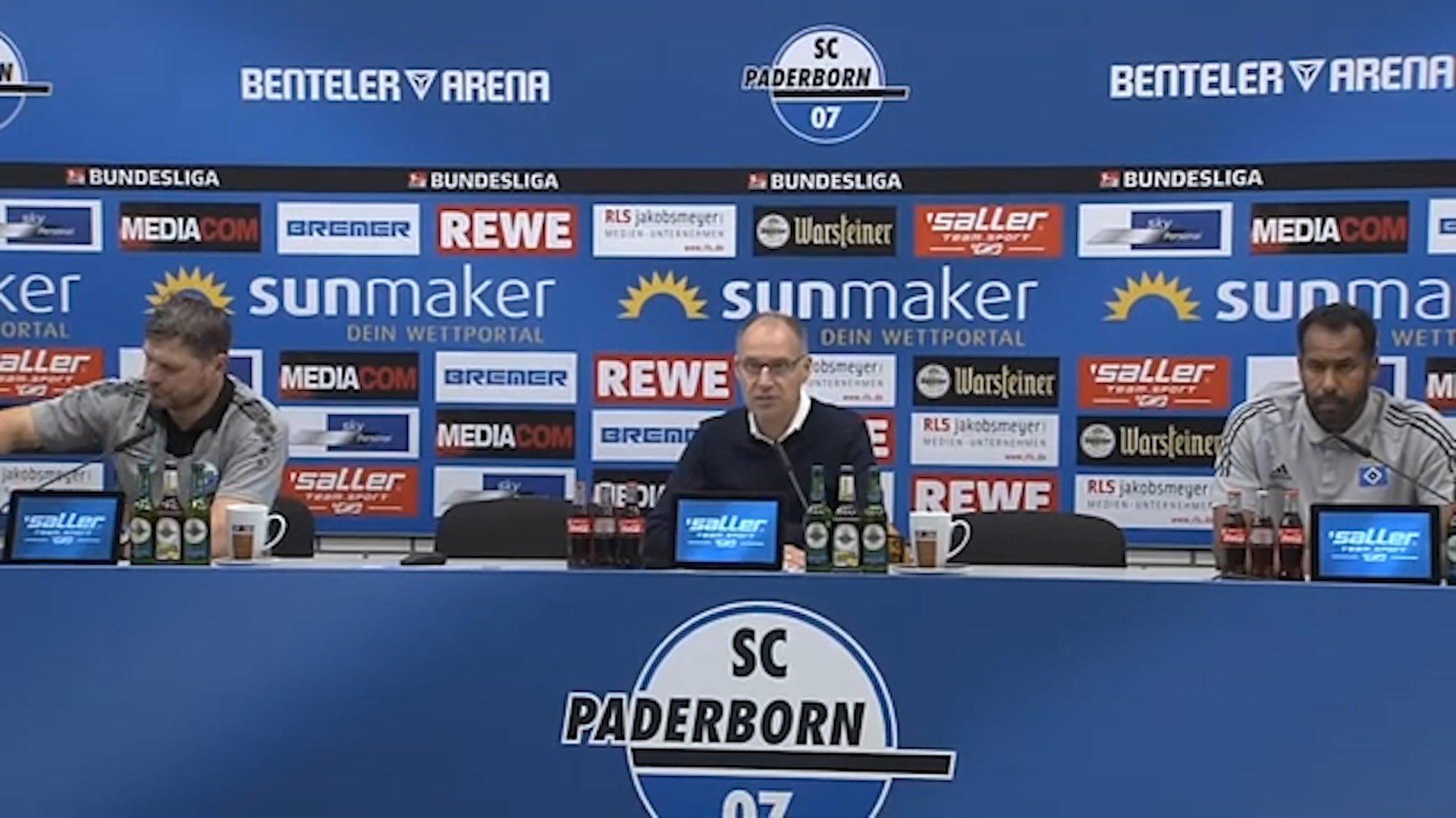 Pressekonferenz Paderborn